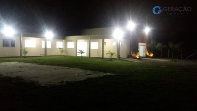 Area com 12000 m²´ área construída 600m² casa com 2 dormitórios - Foto 2