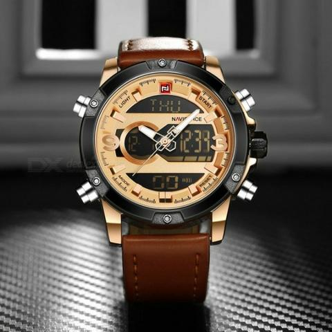 e400b613e7f Relógio de Pulso a Quartzo Masculino - Bijouterias
