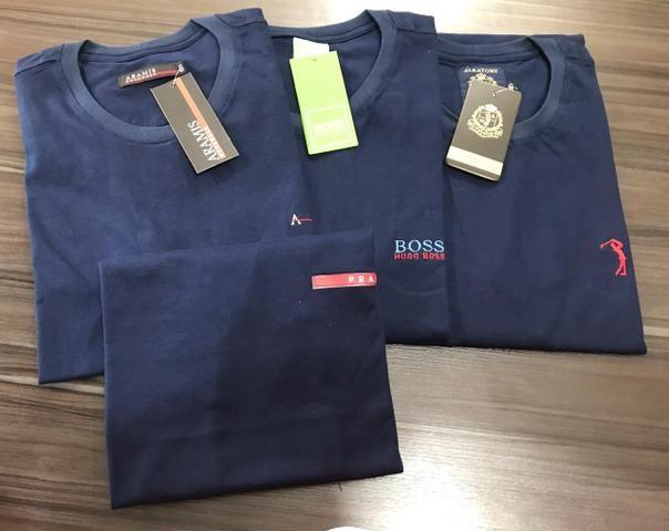 Camisetas em Algodão Menegotti - Foto 5
