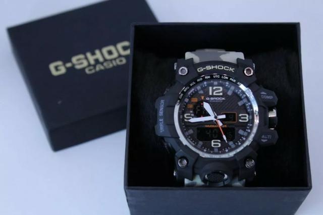 148b758ec9b Relogio g shock camuflado - Bijouterias