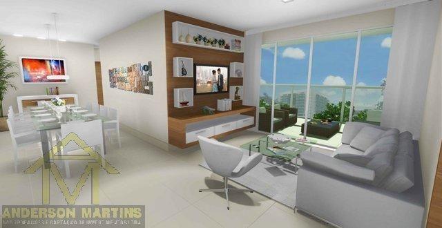 Apartamento à venda com 3 dormitórios em Barro vermelho, Vitória cod:3840 - Foto 5