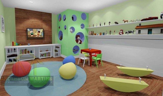 Apartamento à venda com 3 dormitórios em Barro vermelho, Vitória cod:3840 - Foto 3