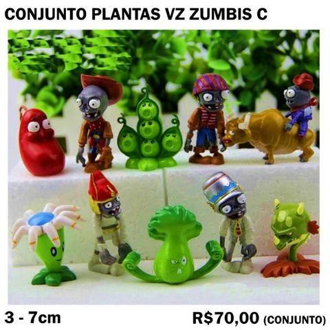 Conjunto Plantas vs Zumbis (4 Conjuntos Diferentes) Cada 70,00 - Foto 3
