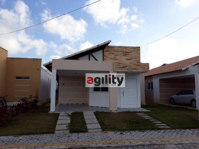 Casa com 3 dormitórios para alugar, 95 m² por r$ 1.400/mês - liberdade - parnamirim/rn - Foto 2