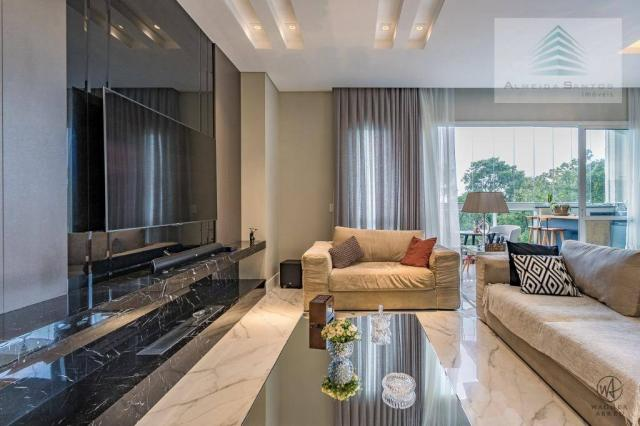 Apartamento à venda, 185 m² por r$ 1.549.000,00 - campo comprido - curitiba/pr - Foto 3