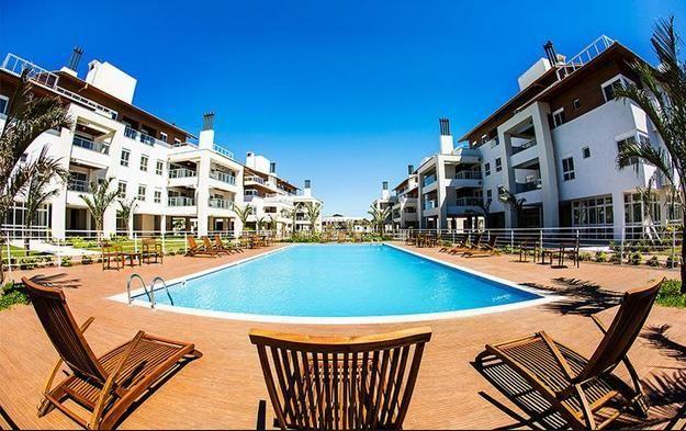 Apartamento garden com 2 dormitórios frente mar - campeche - florianópolis/sc