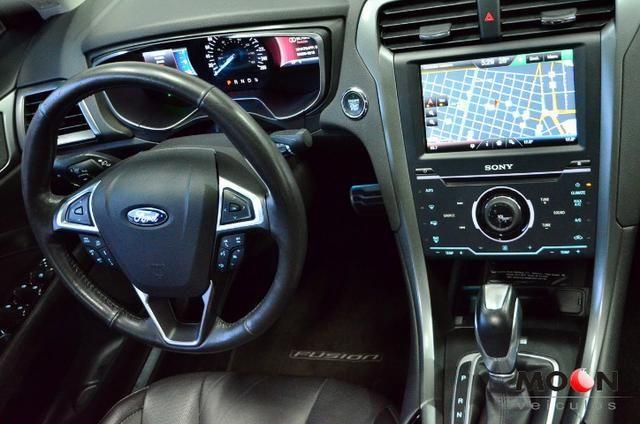 Ford Fusion 2.0 GTDi Titanium Teto solar revisado estado excelente!! - Foto 7