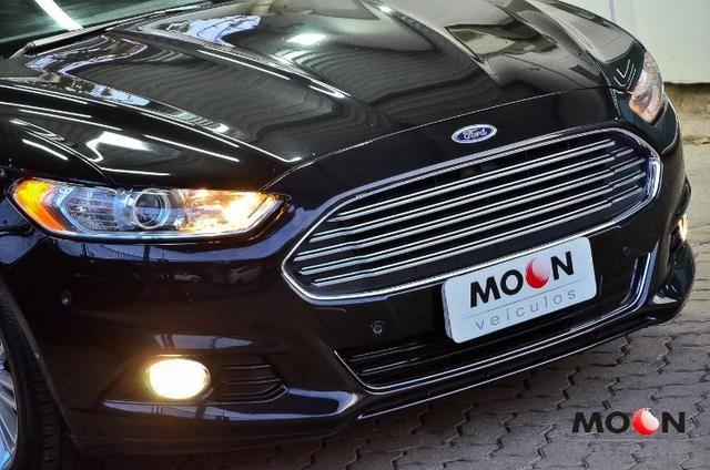 Ford Fusion 2.0 GTDi Titanium Teto solar revisado estado excelente!! - Foto 2