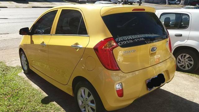 Kia picanto amarelo - Foto 3