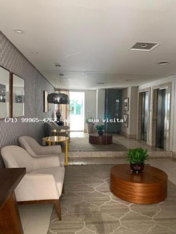 Apartamento para venda em salvador, armação, 3 dormitórios, 1 suíte, 3 banheiros, 2 vagas - Foto 3