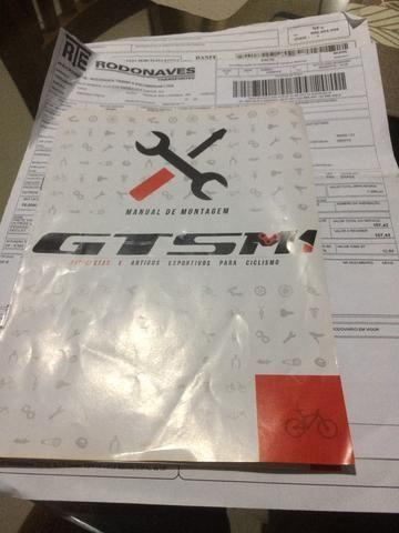 Bicicleta GTSM1 tipo Mountain bike- vendo parcelado no cartão ou troco por acessórios bike - Foto 5