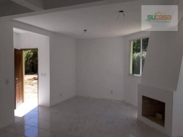 Casa com 1 dormitório à venda, 80 m² por r$ 190.000 - recanto de portugal - pelotas/rs
