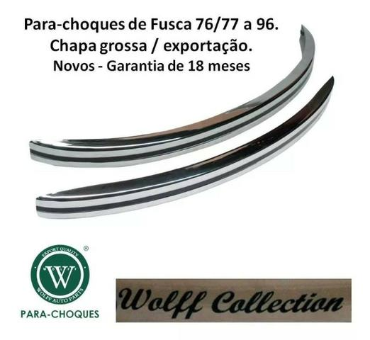 Para-choque Fusca 77 A 96 Marca Wolff Collection Chapa Grossa - Foto 2