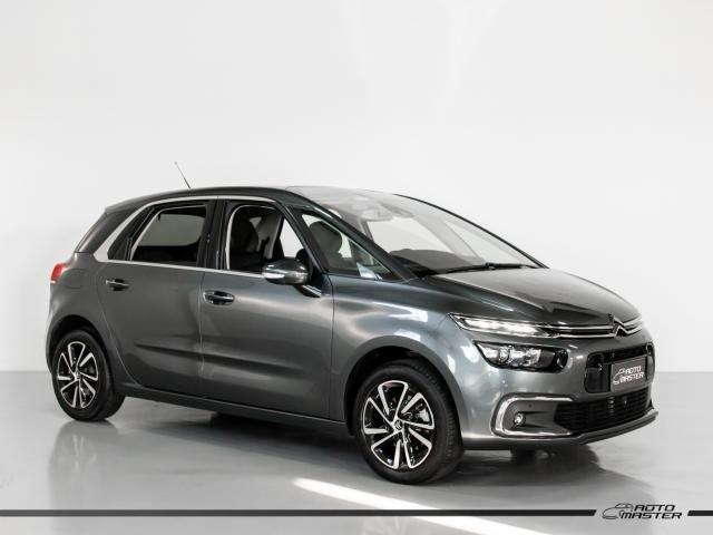 Citroën C4 Picasso Intensive 1.6 Turbo 16V Aut. - Cinza - 2018