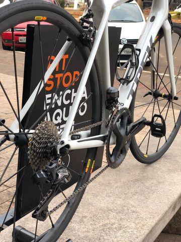 Bicicleta speed Trek Émonda SLR - tamanho 54 - Semi-nova - Foto 6