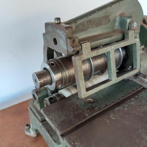 Maquina de cortar tiras de couro Cardoso - Foto 4