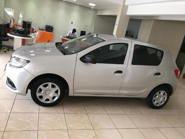 Sandero Authentic Completo+Airbag+Abs 65mil/km - Foto 3
