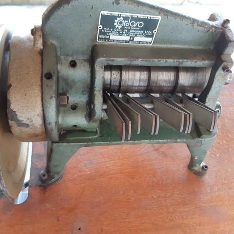 Maquina de cortar tiras de couro Cardoso - Foto 5