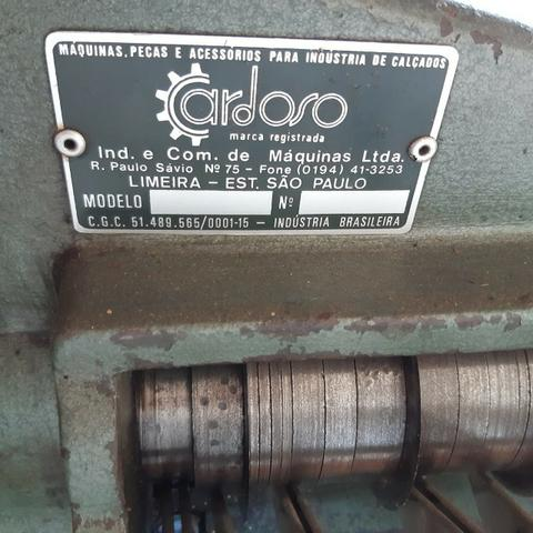 Maquina de cortar tiras de couro Cardoso - Foto 3