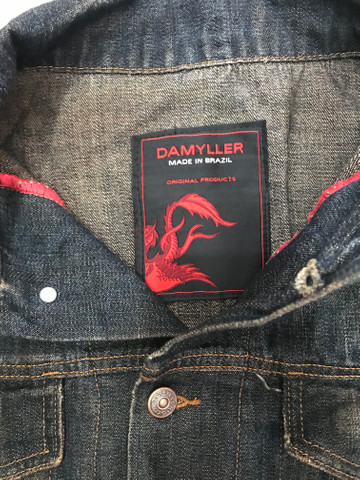 Jaqueta jeans Damyller nova - Foto 3