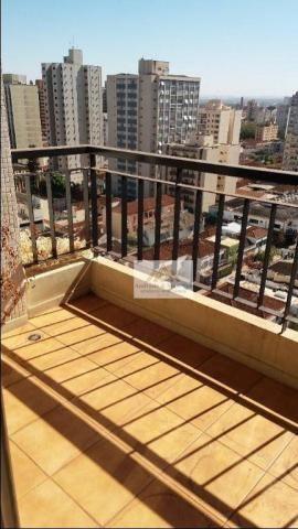 Apartamento com 2 dormitórios para alugar, 75 m² por R$ 1.050/mês - Centro - Ribeirão Pret - Foto 3