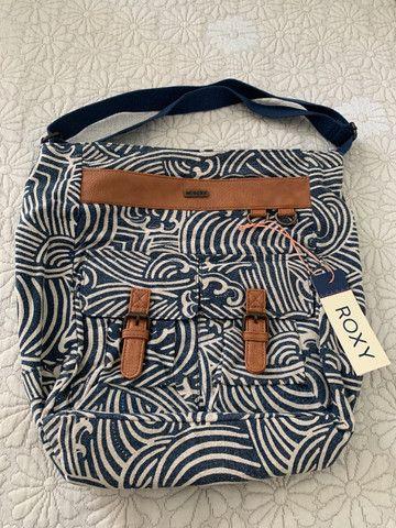Conjunto Bolsa + Carteira Roxy (original) Estampado - Foto 2