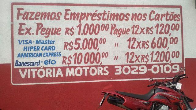 Fazer 250cc/troco por moto menor valor/em até 48x no carnê/36x no cartão de crédito - Foto 9