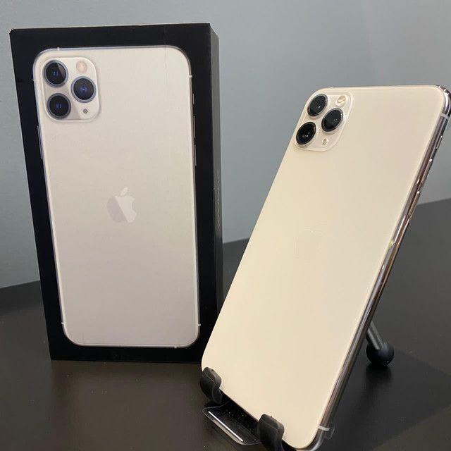 iPhone 11 Pro Max Silver 64GB (NOVO) - Foto 4