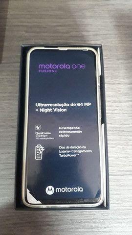 Motorola one vision + branco