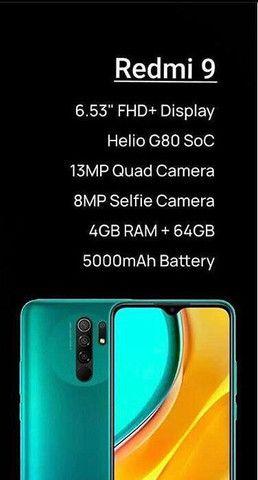 Xiaomi Redmi 9 64GB em 12x 119$ no Cartão - Foto 2