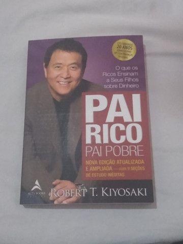 Livro - Pai rico, pai pobre 20 anos