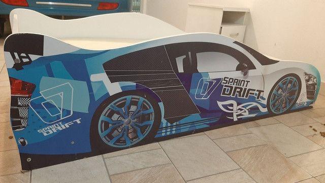 Mini cama carros