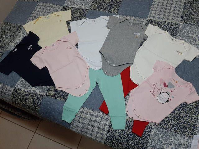 Lote roupas bebê menina tamanho P