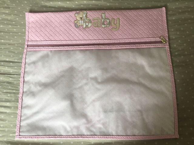 Kit com 3 sacos organizadores para maternidade - Foto 3