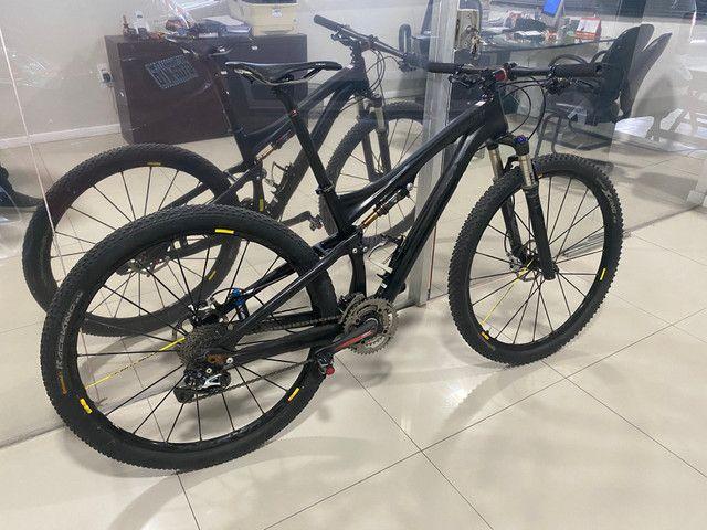 REVISADA!!Bicicleta MTB SPECIALIZED S- WORKS EPIC 29 TAMANHO M FULL - Foto 2