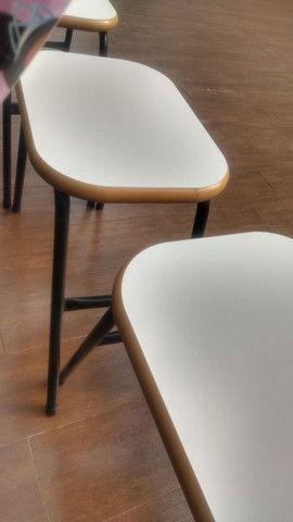 3 banquetas para cozinha 0,45 cm alturas 0,40 cm de largura - Foto 4