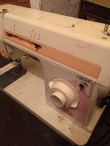 Máquina para costura singer LP 402 B 110V cor laranja  RELÍQUIA  - Foto 6