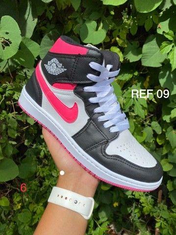 Tenis (Leia a Descrição) Nike Jordan Trad Várias Cores Novo - Foto 6