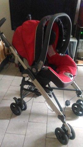 Carrinho de Bebé 3 em 1 Peg Pérego - Carrinho - Moises - Bebe Conforto - Foto 2