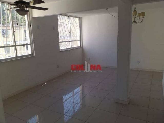Apartamento com 2 dormitórios para alugar, 45 m² por R$ 1.000,00/mês - Santa Rosa - Niteró - Foto 6