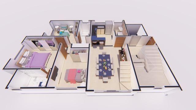 Apartamento à venda com 3 dormitórios em Castelo, Belo horizonte cod:ATC4272 - Foto 3