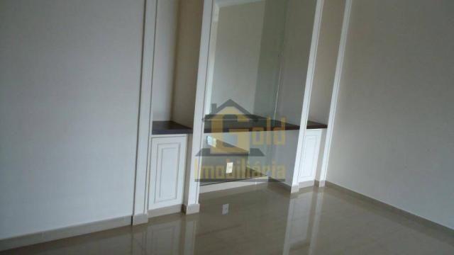 Apartamento com 4 dormitórios para alugar, 155 m² por R$ 2.500,00/mês - Jardim Irajá - Rib - Foto 3