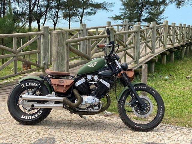 MOTO YAMAHA VIRAGO -535-customizada