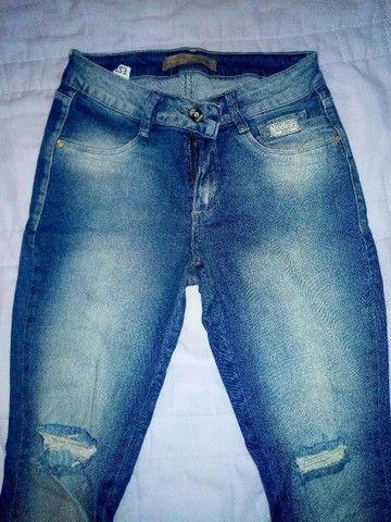 Jaqueta jeans Gap M e calça empório 38 - Foto 2