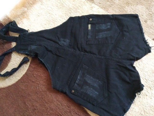 Macaquinho jeans  - Foto 3