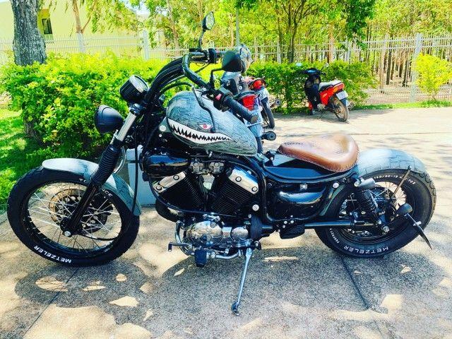 MOTO YAMAHA VIRAGO -535-customizada - Foto 5