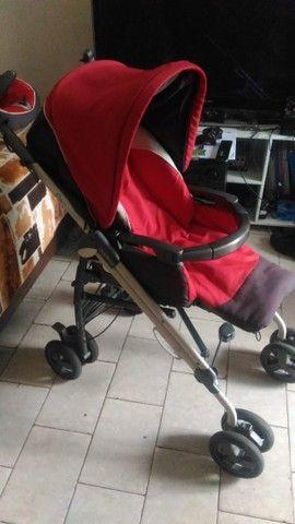 Carrinho de Bebé 3 em 1 Peg Pérego - Carrinho - Moises - Bebe Conforto - Foto 5