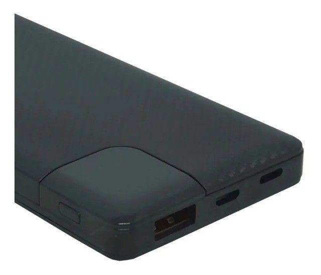 Carregador Portátil Para Celular Power Bank Bateria Externa 10.000 mAh - Foto 2