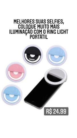 Mini Ring Light Portátil - Foto 2
