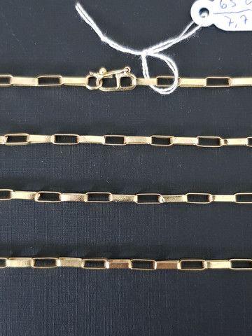 Cordão de ouro 18k - Modelo Cartier